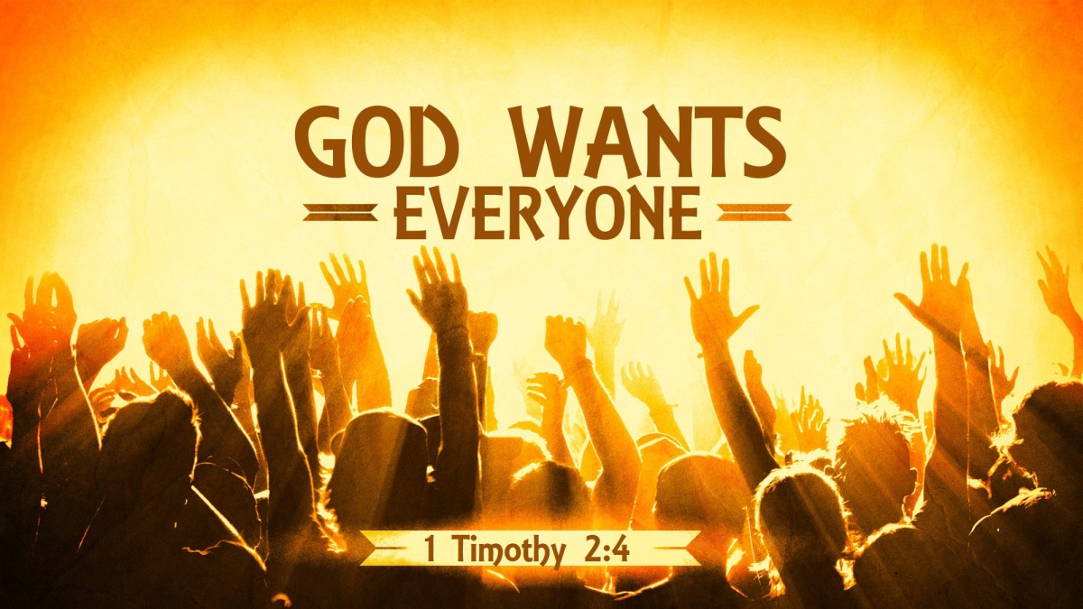 God Wants Everyone