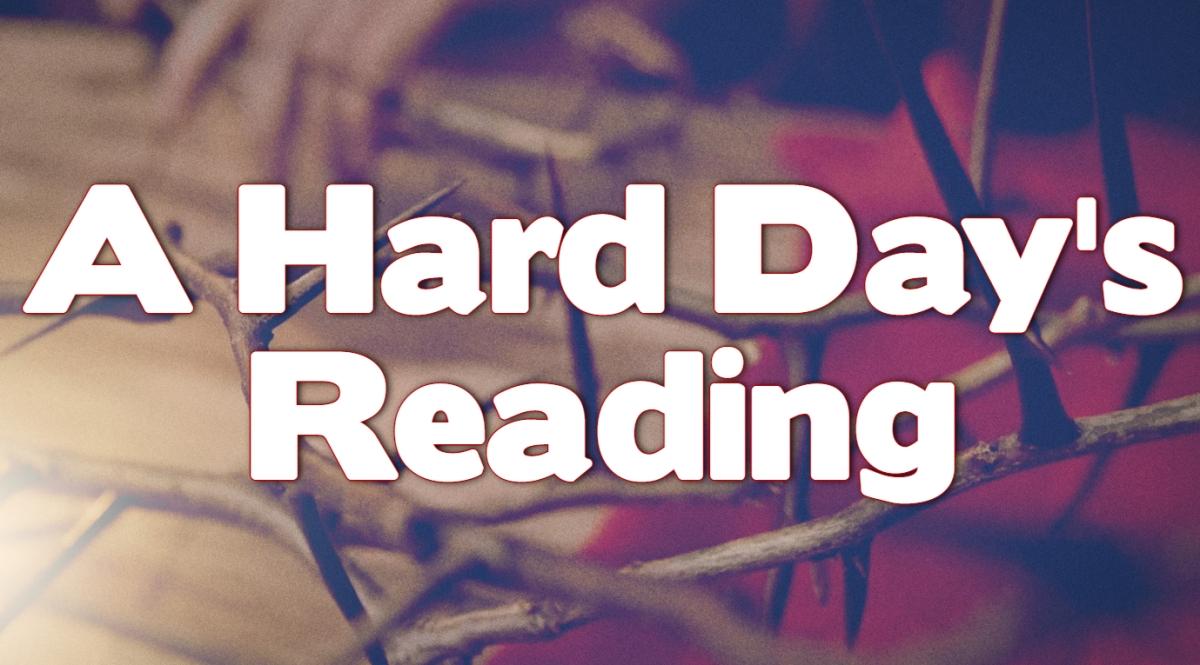 A Hard Day'sReading
