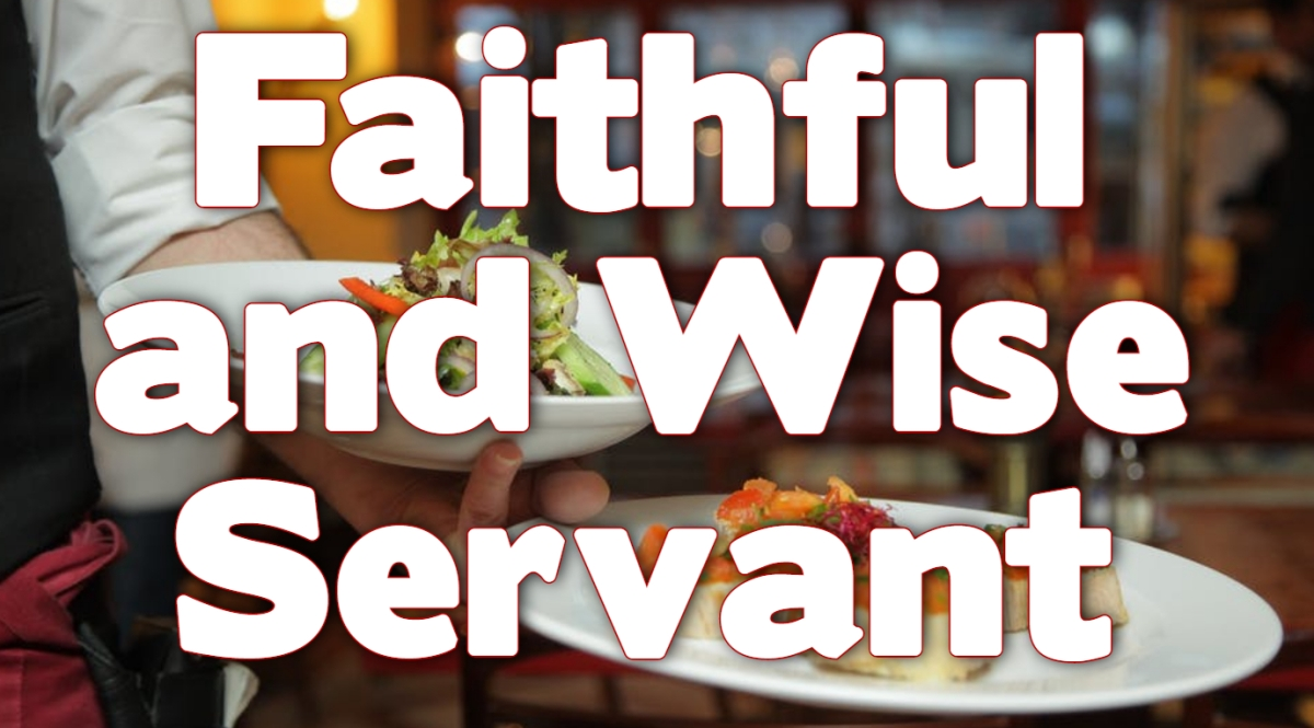 Faithful and Wise Servant
