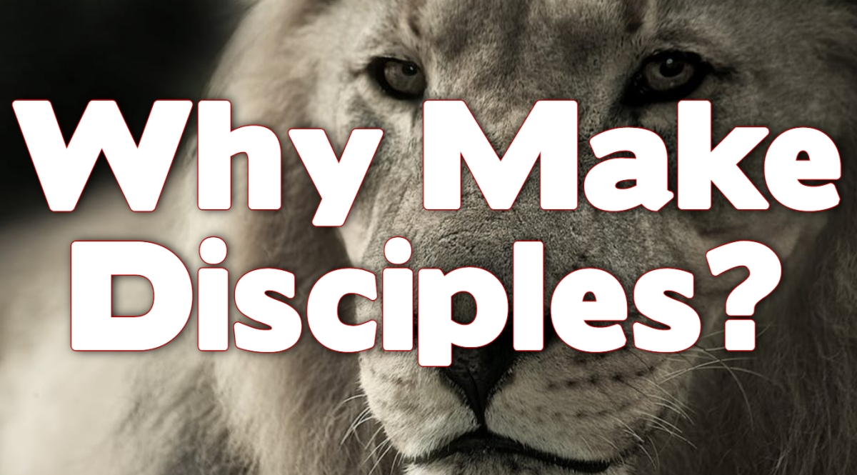 Why Make Disciples?