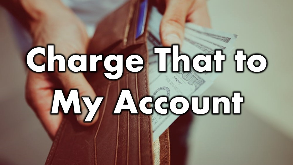 Charge That to MyAccount