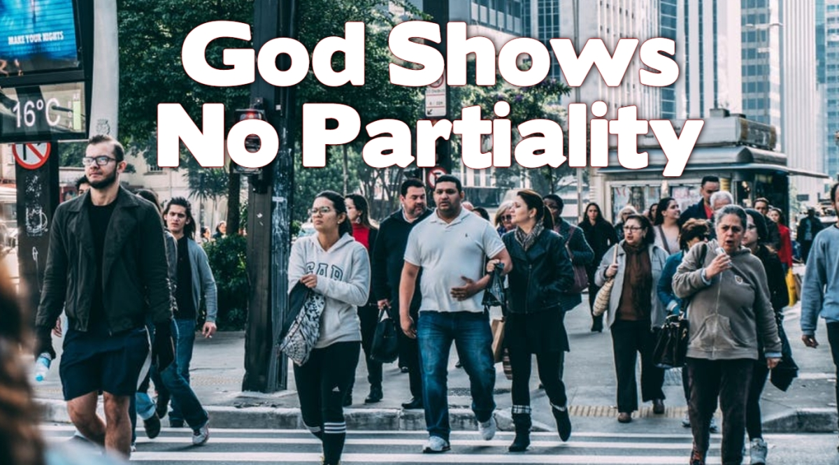 God Shows NOPartiality