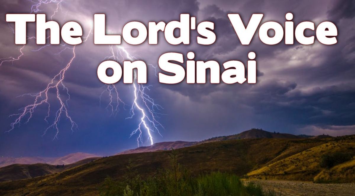 The Lord's Voice on Sinai