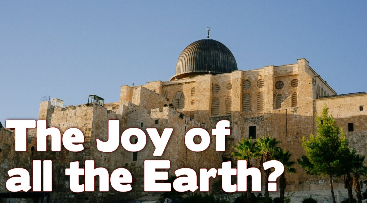 The Joy of All theEarth?